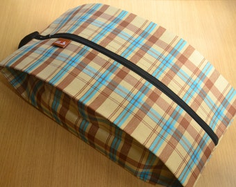 England check Shoe Bag Travel bag, wet bag Waterproof Nylon, Mesh Fabric, U-Zipper#5