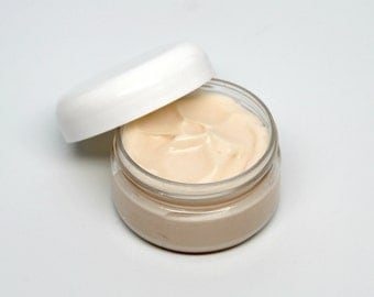 Shimmering Aloe and Shea Butter Hand and Body Lotion- Extra Shimmer- Your Choice of Fragrance- 2 oz jar
