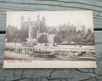 Vintage London Tower Postcard