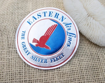 Vintage Eastern Airlines Luggage Decal Sticker