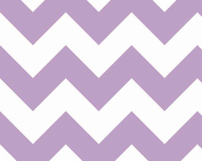 Half Yard Large Chevron - Lavender Purple - Cotton Quilt Fabric - C330-120 - RBD Designers for Riley Blake Designs (W3312)