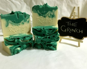 The Grinch Essential Oil Soap