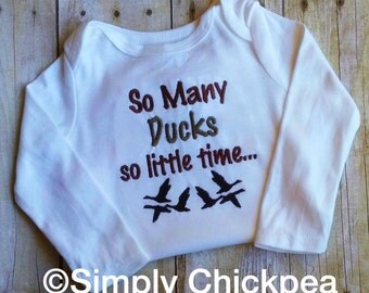 Instant Download: So Many Ducks So Little Time Embroidery Designs