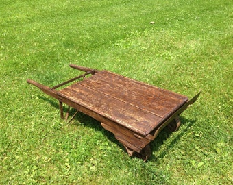 Railroad Cart/Dolly Coffee Table