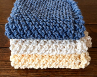 baby wash cloth, baby shower gift, knitted wash cloth, washcloth, spa set, spa washcloth, knitted washcloth, dish cloth, facial cloth, spa