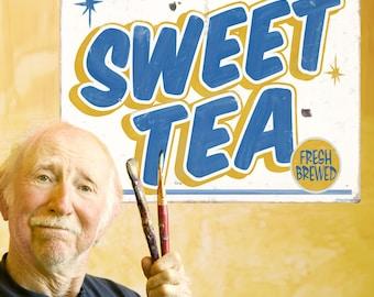 Sweet Tea Carnival Food Wall Decal - #59409