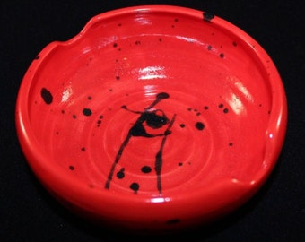 Hand Crafted Chop Stick Pottery Bowl