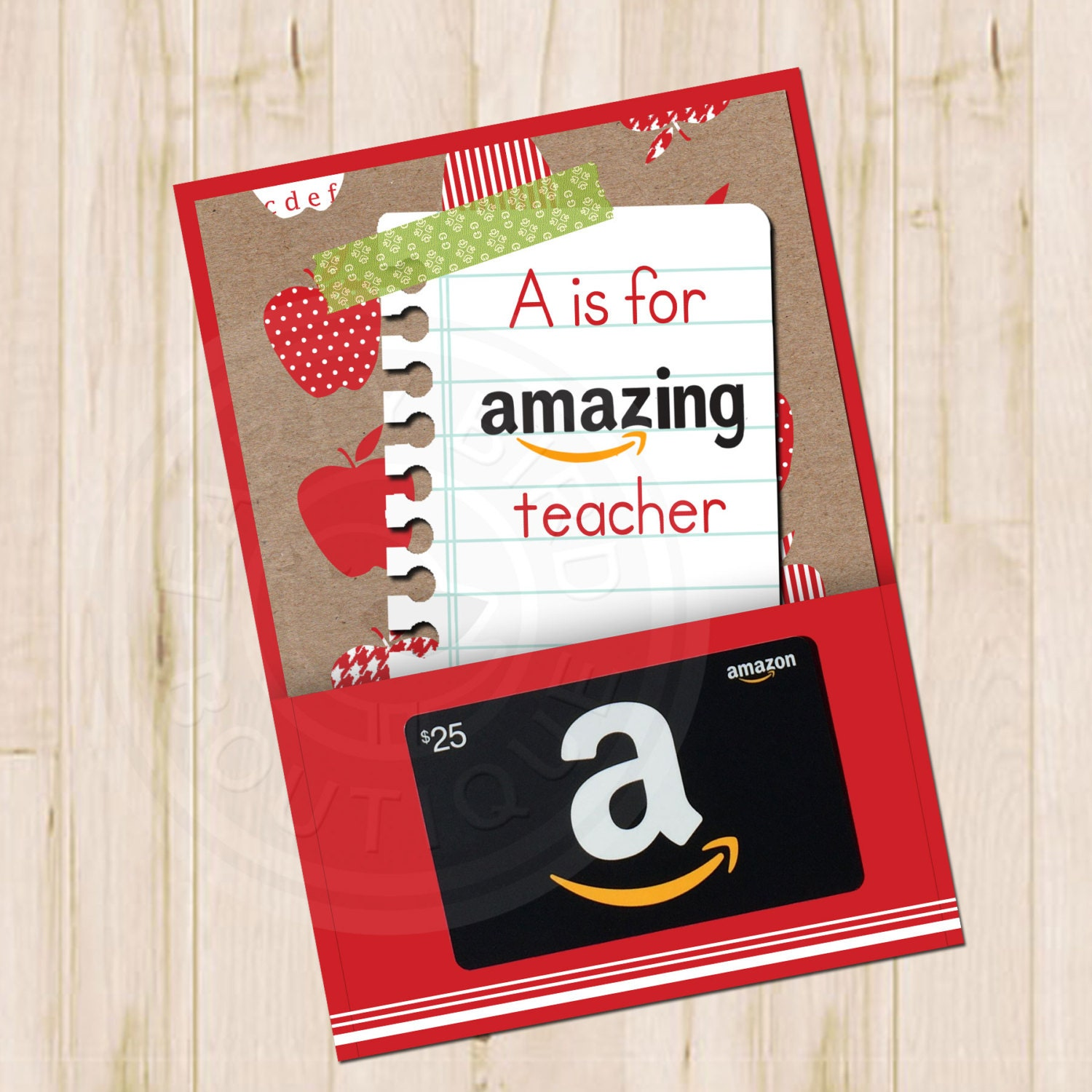 Printable A is for Amazing Teacher Amazon by ...