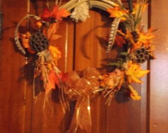 SALE Fall Western Lasso Lariat Wreath SALE
