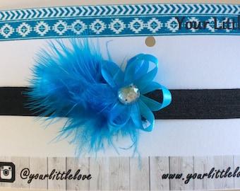 "14"" Feather Headband"
