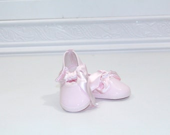 Vintage pink ballerina+ Shoes sz 1