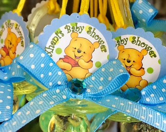Superb 12 Winnie The Pooh Baby Shower Pacifiers  Winnie The Pooh Baby Shower  Favors  Winnie
