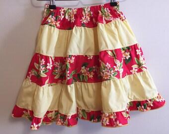 Ready to ship ruffle skirt size 8-14