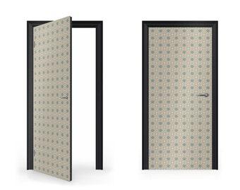 DoorWrap: Native American Pattern