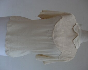 1940's blouse. Pin Tucked.