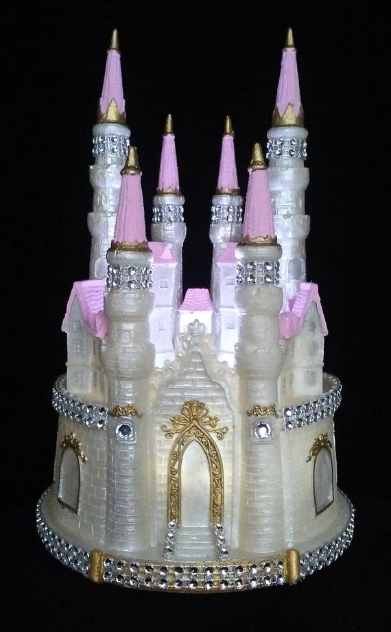 fairytale castle wedding cake topper castle cake topper cinderella fairytale wedding princess 14098