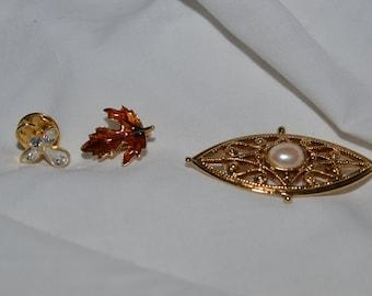 Unique Vintage brooches/pins
