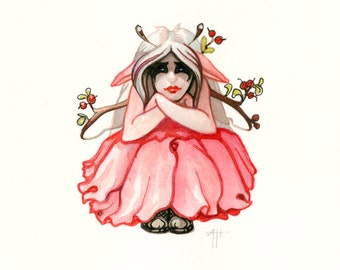 Ambi Valent print, Seasonal Distemper, fairy art