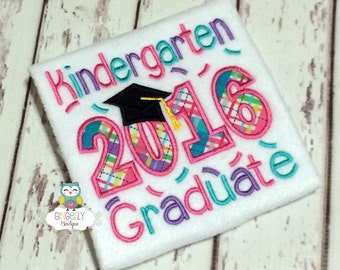 Kindergarten Graduate 2018 Shirt, School Graduation, Kindergarten Graduation, Graduation, Graduation 2018, Girl Kindergarten Graduation