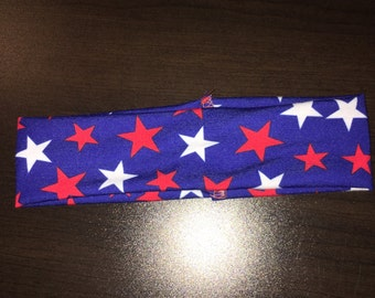 Patriotic stretchy headband
