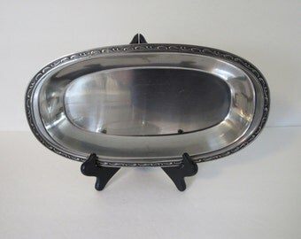 Oneida Stainless Steel Serving Dish