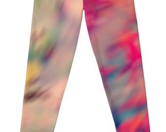 Shades of Autumn Designer Leggings