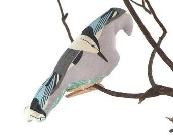 Charlie Harper, Fabric Birds, Bird Mobile, Baby Mobile, Mid Century, MCM, Crib Mobile, Gender Neutral Nursery