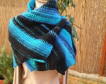 Dragon tail shawl
