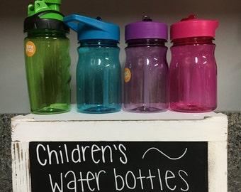 Monogram Custom Personalized Children Kids Water Bottles