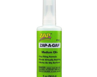 1 Super Bonding Zap A Gap Adhesive 2 Ounce Bottle Jewelry Supplies SBA2oz-1S