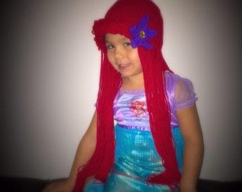 Little mermaid wig | Etsy