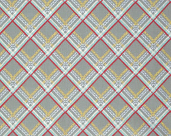 Feathered Check It Desert - 1/2yd