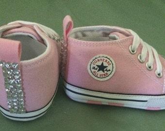 Glitter converse [Pink] size 3
