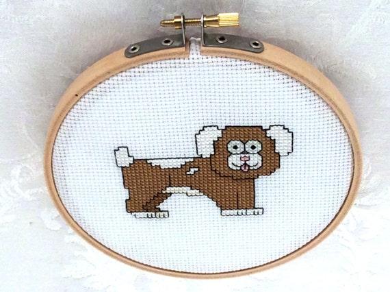 Knitting Room Fond Du Lac : Dog instant download cross stitch pattern pdf