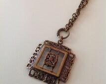 Pentti Sarpaneva bronze necklace