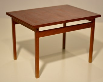 Solid Teak Side Table France and Sons