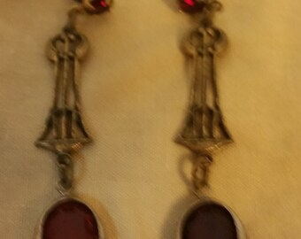 1920's Style Vintage Earrings