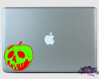 Poisoned Apple Car Decal