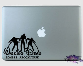 LIMITED EDITION - Walking Dead Disney Car Decal