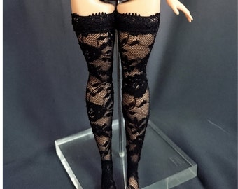 Dolls stockings for CURVY barbie - No.2346