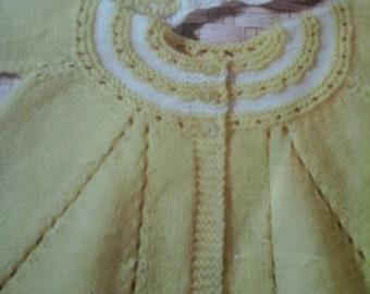 Vintage matinee coats pattern