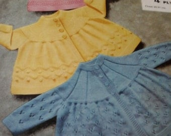 vintage baby coats pattern