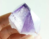 """Large Amethyst Crystal Point from Brazil - 3.0"""" x 2.4"""" x 1.5"""" (75mm x 61mm x 37mm)"""