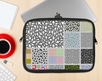 The ;;; Dye-Sublimated NeoPrene MacBook Laptop Sleeve Carrying Case