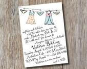 Bridal Lingerie Shower Invitation