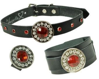 Set - Bracelet, collar