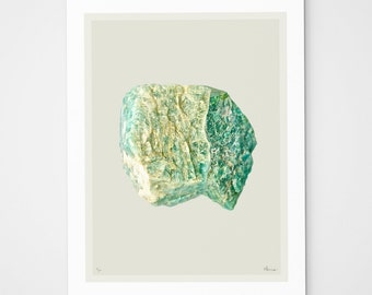 Aventurine Mix (No. 5) quartz crystal print
