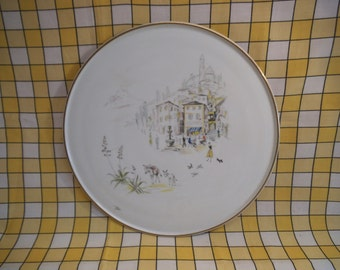 Hutschenreuther - Large Porcelain Charger - Trattoria Modernist