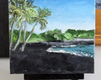 Black Sand Beach ~ Hawaii