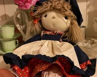 Vintage 1970s Rag Doll